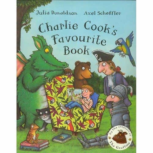 <span>[P]</span>Charlie Cook's Favourite Book