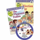 [PAC] Level 1. Robin Hill School: Election Day/The Playground Problem (Book 2권 + CD 1장) [Ready to Read]