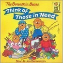 [P] Think of Those In Need [Berenstain Bears]