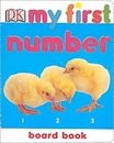 [B]DK My First Number Board Book (UK판)