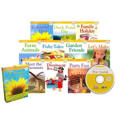 [PAC] 첫과학리더스 DK Readers Pre-Level 10종 Set(book...