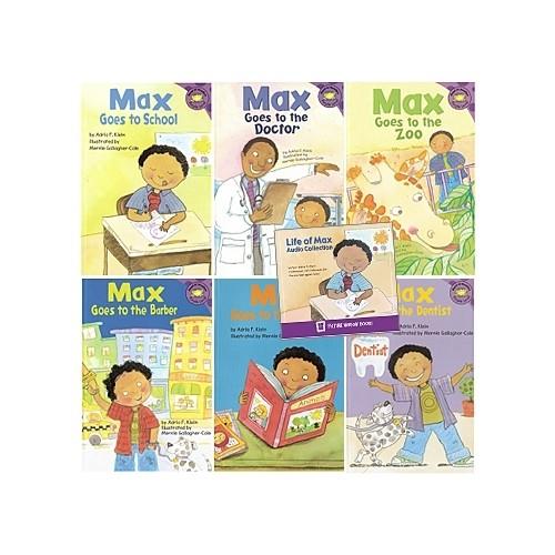 [PAC] Max's Life 6종 (Book & CD)