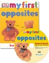 [BAC] DK My First Opposites Board Book (Book + Audio CD)(UK판)