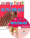 [BAC] DK My First Animal Board Book (Book + Audio CD)(UK판)