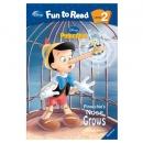 [PAC]Fun to Read 2-04 Pinocchio's Nose Grows[피노키오] (페이퍼백+CD)[Disney]
