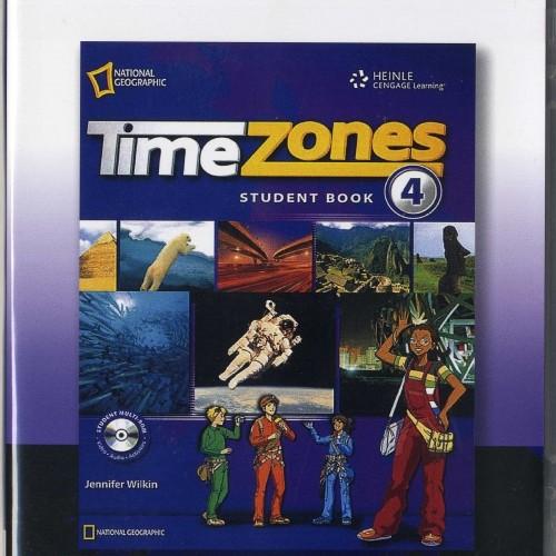 <span>[CD]</span> Time Zone Level 4 Audio CD (2 ea)