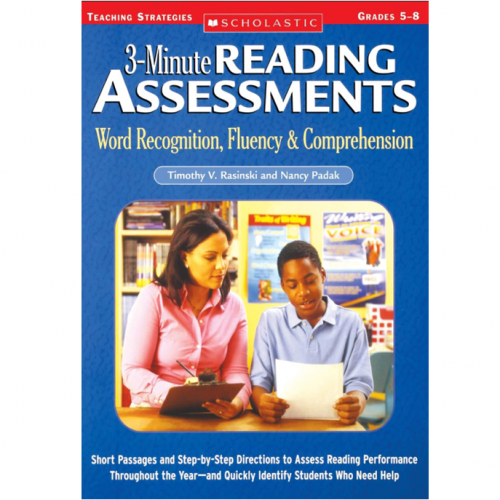3-Minute Reading Assessments: Word Recognition, Fluen...