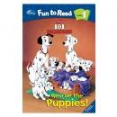 [PAC]Fun to Read 1-12 101 Dalmatians Rescue the Puppies[101 달마시안] (페이퍼백+CD)[Disney]