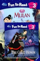 [PAC]Fun to Read 3-03 The Great Honor[뮬란] (페이퍼백+CD)[Disney]