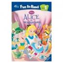 [PAC]Fun to Read 1-10 Alice in Wonderland [앨리스] (페이퍼백+CD)[Disney]