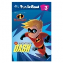 [PAC]Fun to Read 3-02 The Incredible Dash [인크레더블] (페이퍼백+CD)[Disney]