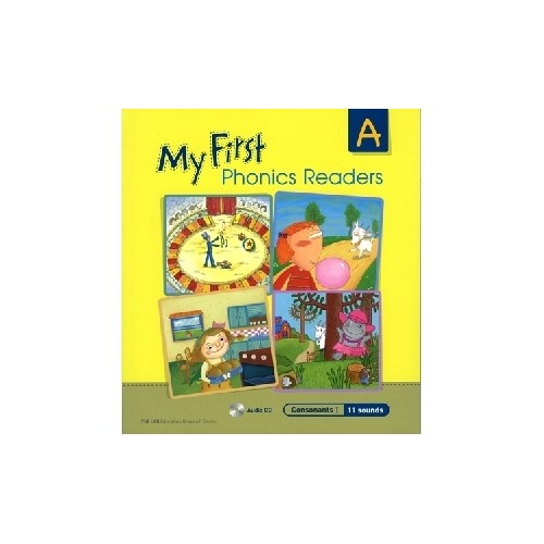 <span>[PAC]</span> My First Phonics Readers A with CD