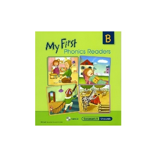 <span>[PAC]</span> My First Phonics Readers B with CD