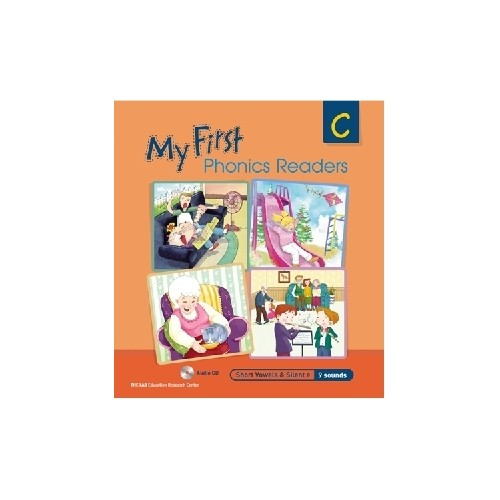 <span>[PAC]</span> My First Phonics Readers C with CD