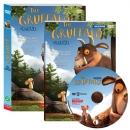 [DVD] THE GRUFFALO 괴물 그루팔로 DVD : 올칼라 영한 대본 1권 포함