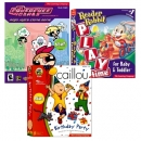 [CD-ROM] 리더래빗 Reader Rabbit 영어왕초보세트 (Baby&Toddle,Caillou Birthday Party, Power Puff Girl)