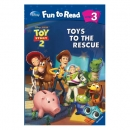 [PAC]Fun to Read 3-08 Toys to the Rescue [토이스토리2] (페이퍼백+CD)[Disney]