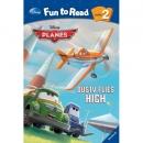 [PAC]Fun to Read 2-26 Dusty Flies High [비행기] (페이퍼백+CD)[Disney]
