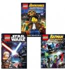 [미국직배송] LEGO 레고 베스트 DVD 3종 세트