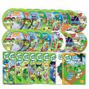 [DVD]New 립프로그 1집 Leap Frog DVD 세트(DVD9종+오디오CD9종+싱어롱CD+대본9권)