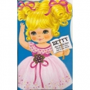 Betty the ballerina : Press-Out Doll and Story-Book (종이인형)