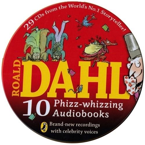 New Roald Dahl 10종 틴케이스 오디오 세트 (오디오시디 ...