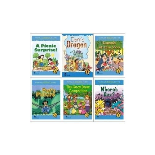 Macmillan Childrens Readers 2단계 6종 도서 세트