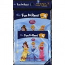 [PAC]Fun to Read K-06 What Is a Princess? [공주들] (페이퍼백+CD)[Disney]