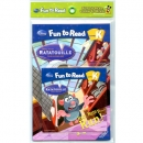 [PAC]Fun to Read K-09 Run, Remy, Run! [라따뚜이] (페이퍼백+CD)[Disney]