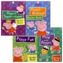 ���� �DZ� Peppa Pig's Brilliant Sticker Collection ��ƼĿ�� 4�� ��Ʈ