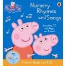 페파 피그 Peppa Pig: Nursery Rhymes and Songs 도서 & 시디 세트