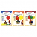 Scholastic Study Smart: English Practice Papers Lv 4-6 세트 (Paperback) 스칼라스틱 스터디 스마트