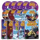 [DVD] 형사 가제트 2집 INSPECTOR GADGET 세트(DVD 5종+오디오CD 5종)