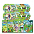 New 립프로그 2집 Leap Frog Letter Factory Adventures 세트(DVD4장+오디오CD4+싱어롱DVD+싱어롱CD+대본4권)