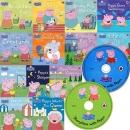 Peppa Pig �����DZ� ����+CD ��Ʈ (�����۹�13��+�������� CD1��+����ǰ TV�ø������� CD1�� ����)