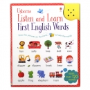 ��� Listen and Learn First English Word ����