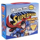 Superman Classic: Superman Phonics Fun 도서 12종 박스 세트 (My First I Can Read)