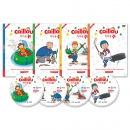 [DVD] Caillou 까이유:Fun with Caillou 4종 세트