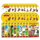[DVD] 큐리어스 조지 Curious George 1집 세트(DVD10종+오디오CD10종)