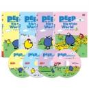 [DVD] Peep and the Big Wide World 호기심 대장 삐악이 2집 4종 세트
