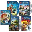 [미국직배송] 레고 키마의 전설 5종 DVD 세트 (시즌 1,2 포함)