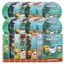 바다탐험대 옥토넛 OCTONAUTS DVD 1집 세트(DVD 8종+오디오CD 8종)