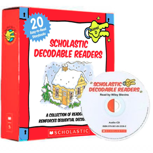 Scholastic Decodable Readers level D (20 Books+CD 1)B...