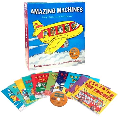 어메이징 머신 Amazing Machines Collection 도서&CD...