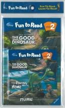 [PAC]Fun to Read 2-30 The Journey Home [굿 다이노] (페이퍼백+CD)[Disney]