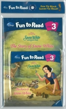 [PAC]Fun to Read 3-18 The Story of Snow White [백설공주] (페이퍼백+CD)[Disney]
