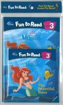 [PAC]Fun to Read 3-15 The Beautiful Voice [인어공주] (페이퍼백+CD)[Disney]