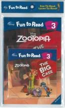 [PAC]Fun to Read 3-21 The Big Case [주토피아] (페이퍼백+CD)[Disney]