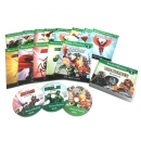World of Reading Level1: The Heroes 13종 (B+CD) SET