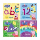 페파 피그 Peppa Pig 보드북 4종 Set (ABC, 123, Shapes, Colours)